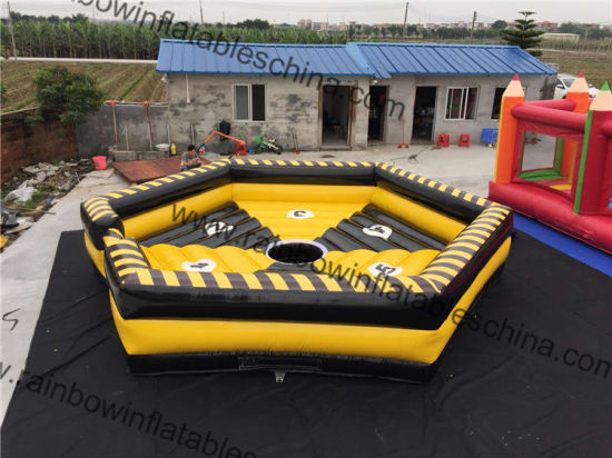 5984460b6ffb6 Hot Sale Inflatable Sports Game Dia 7m Eight Diagrams Inflatable Bull  Mattress pictures   photos