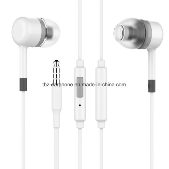 in-Ear TPE Wire Stereo Headphone with Microphone Champ