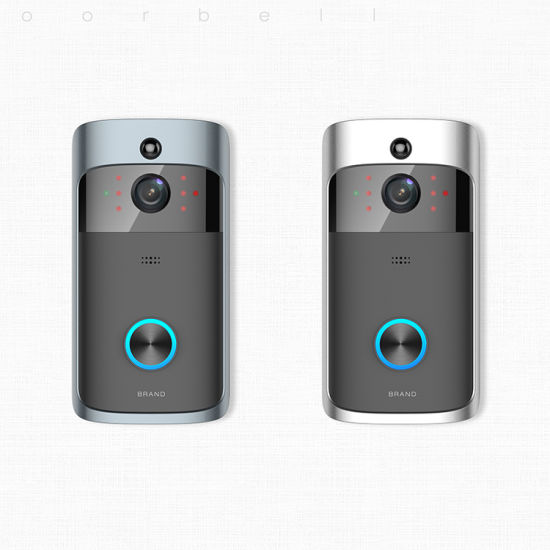 New Design Smart Battery WiFi Video Doorbells Intercom for Home Security pictures & photos