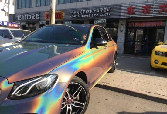 Car Vinyl Wrap Cost >> China Ts 1 52x18m Laser Chrome Car Vinyl Wrap Cost For Sale