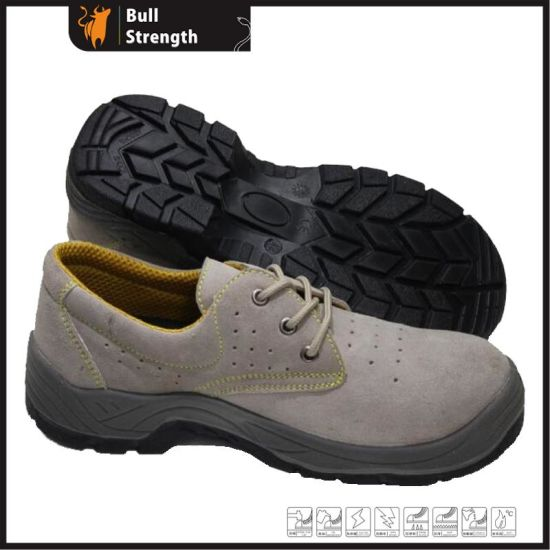 Industrial Leather Men/Women Safety Shoes Working Shoe Safety Footwear with Ce Certificate with Good Quality (SN5310)