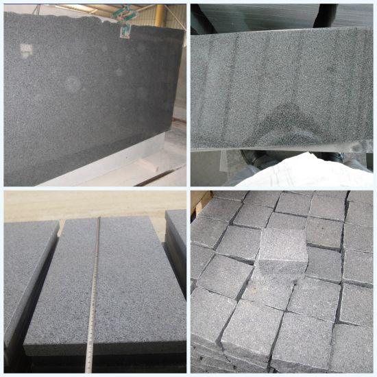 Grey Granite G654 Polished Slabs