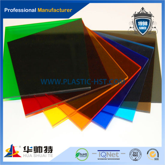 Hot Sell Nice Colorful Cast Acrylic Sheet & PMMA Sheet pictures & photos