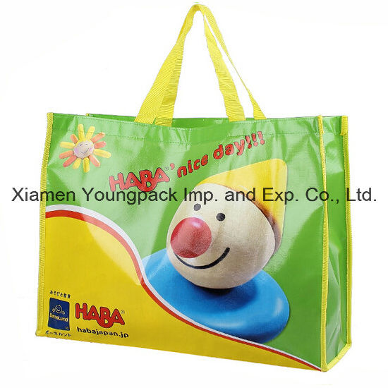 Advertising Large Landscape PP Non-Woven Laminated Shopping Bag pictures & photos