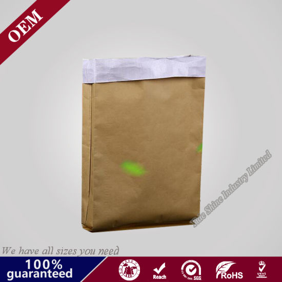 Craft PE ISO Certification 2018 Hot Sell China Kraft Paper Valve Bags for Plaster, Dry Mortar, Cement, Wall Putty
