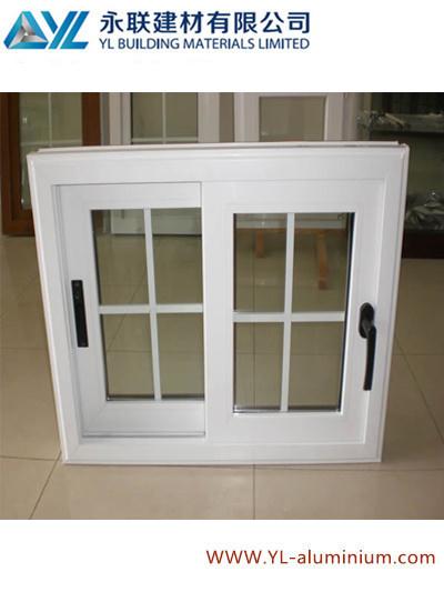 Home Used Powder Coated Aluminum Window for Casement Window