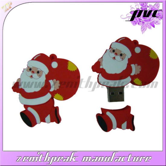 wholesale christmas gifts santa claus pvc usb - Wholesale Christmas Gifts