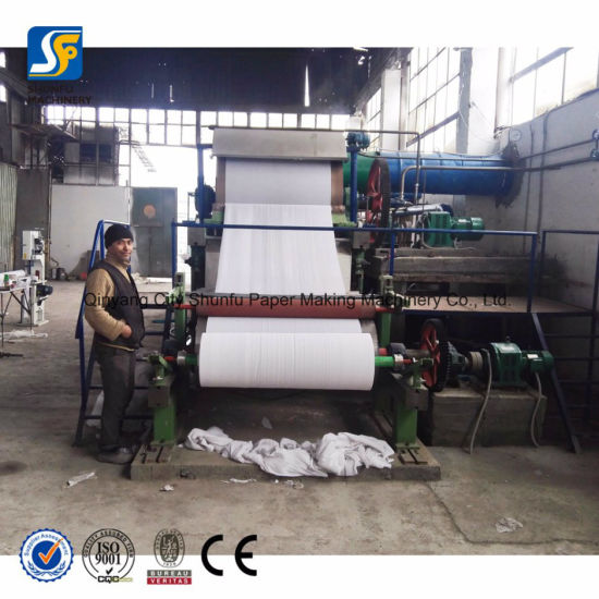 Widely Used Manufactures Mini Toilet Tissue Making Paper Machine Production Line on Sale pictures & photos