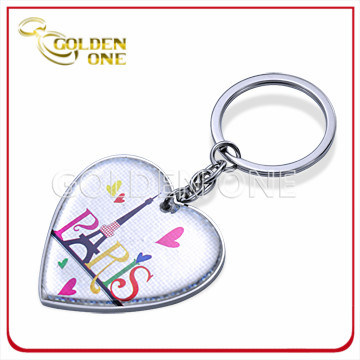 Souvenir Gift Custom Printed & Epoxy Coated Metal Key Ring pictures & photos