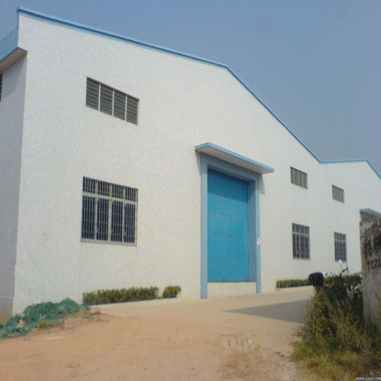 China Prefabricated Steel Frame Structure Garage - China Steel ...
