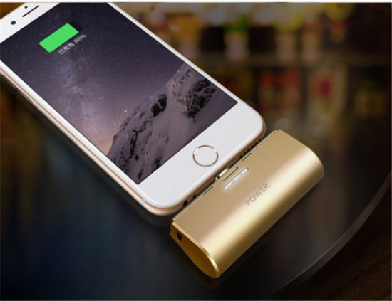 Mini Pocket Power Charger Rechargeable Power Bank for Apple 7/6s/6/5s/5 pictures & photos