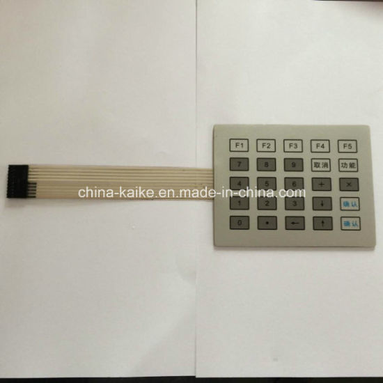 OEM Silicone Numeric Membrane Keypad Switch pictures & photos