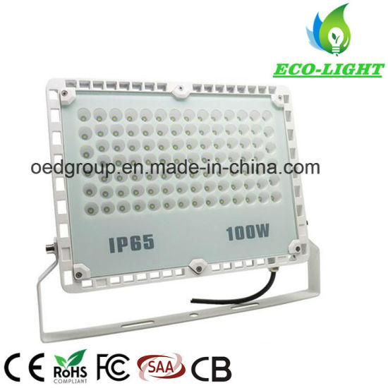 High Quality Outdoor Waterproof High Power 100W SMD LED Floodlight From Shenzhen Factory