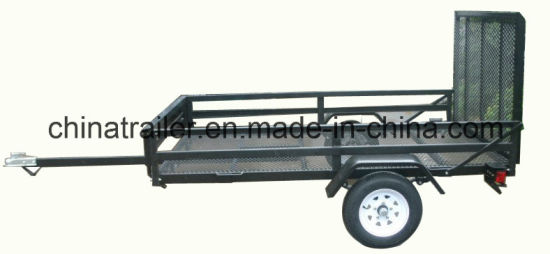 5-FT X 8-FT Steel Utility Trailer with Ramp Gate pictures & photos