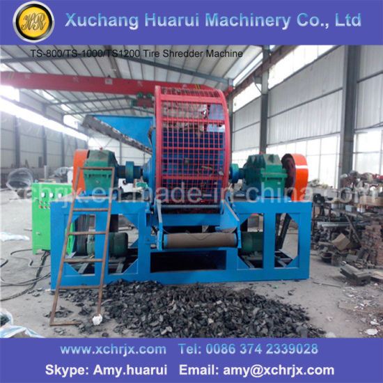 China Widely Used Tire Shredder Tyre Recycle Machine Tire Shredder