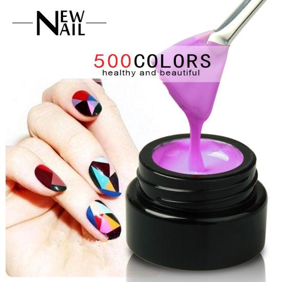 China Hot Selling Painting Uv Gel Polish Nail Art Design For Salon