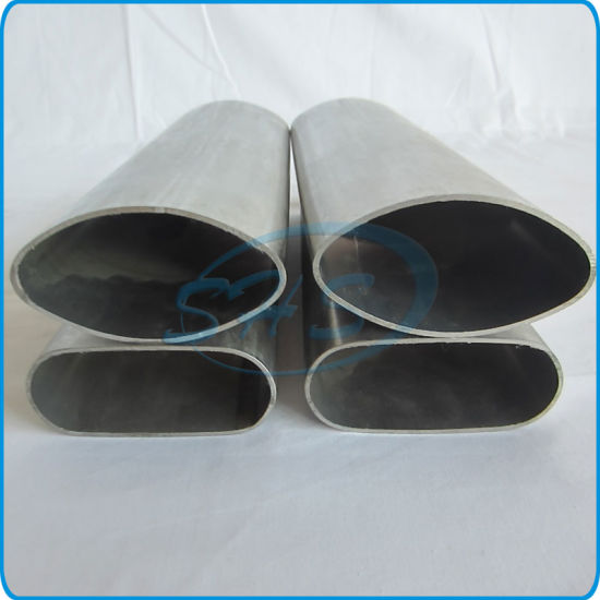 Stainless Steel Elliptical Oval Tubes for Door Handle pictures & photos