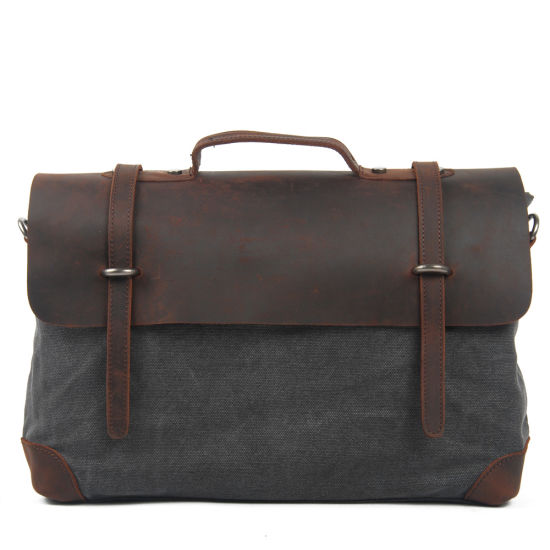 Leather Man Canvas Beach Bag (RS-2167A) pictures & photos
