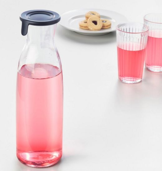 Glass Water Jug for Hot/Cold Water, Ice Tea pictures & photos