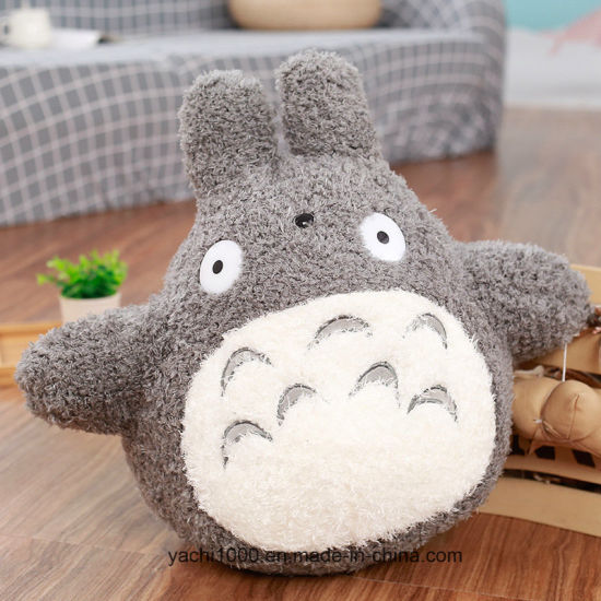 Lovely Cartoon Design Plush Stuffed Totoro Animal Toy Cat