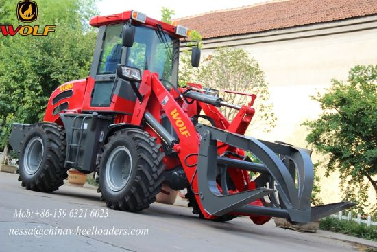 European Style Wolf Farm Machinery Wl180 Front End Loader