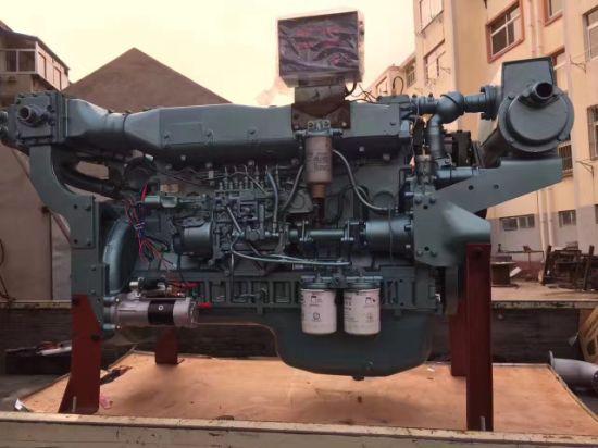 Sinotruk 110kw-220kw Diesel Engine for Marine (WD415/WD615/D12)