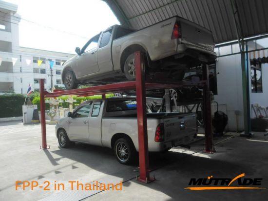China Repair Shop Jack Vehicle Parking 4 Post Car Lift Equipment