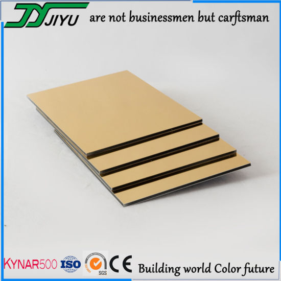 3mm/4mm PVDF Coating Fireproof Alumimium Composite Panel