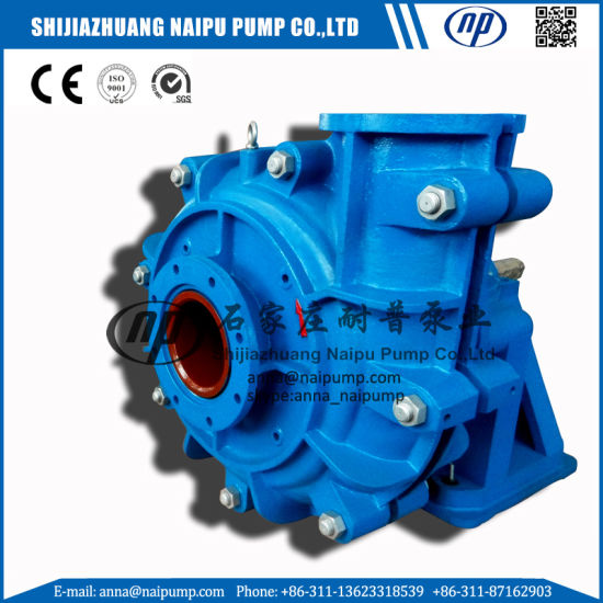 Np- Sludge Handling Chemical Processing Slurry Pump pictures & photos