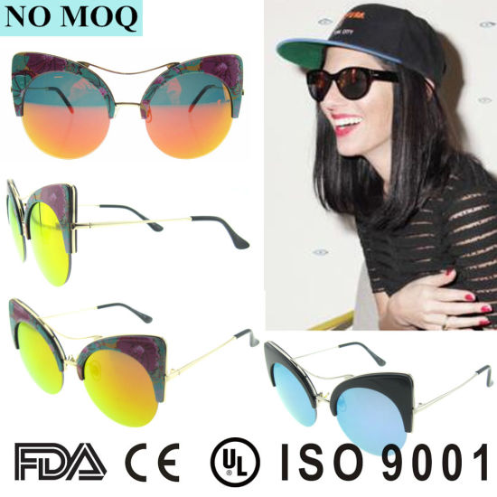 d13efddb1afb New Fashion Vintage Cat Eye Women Sunglasses Metal Arm Sunglasses pictures  & photos