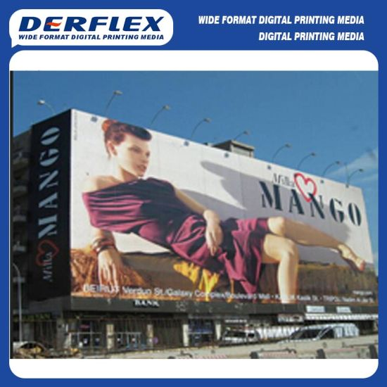 340GSM (10oz) Hot Laminated Frontlit PVC Flex Banner pictures & photos