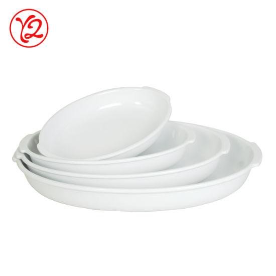 Melamine Plastic Dinnerware Plates Set for 4 Dinner Set 040 with Solid Color
