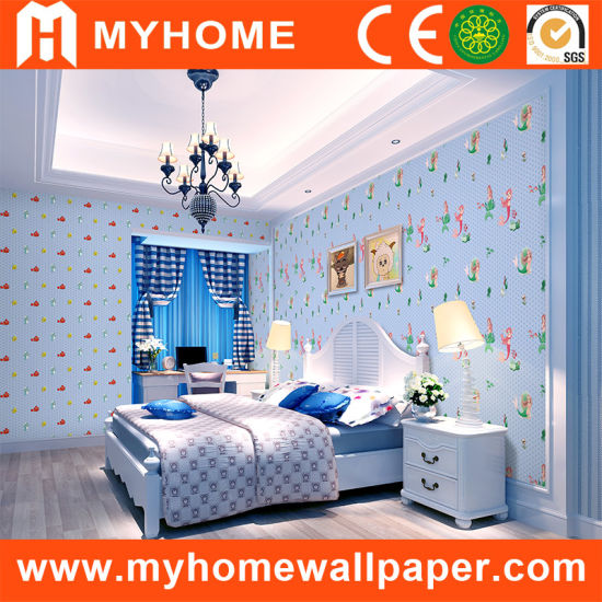 China Modern Design Kids Wallpaper With Low Price China Wallpaper