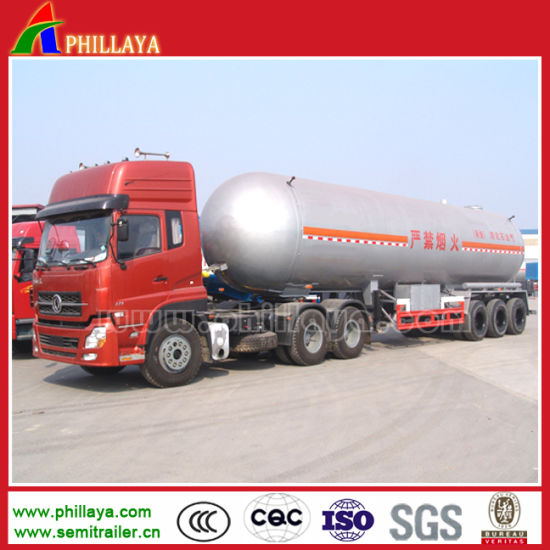 25 Tons LPG Tanker Semi Trailer Transport Bullet Tank pictures & photos