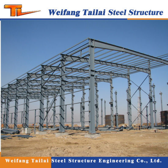 Light Steel Structure Frame Building Construction of Steel Framwork Warehouse pictures & photos