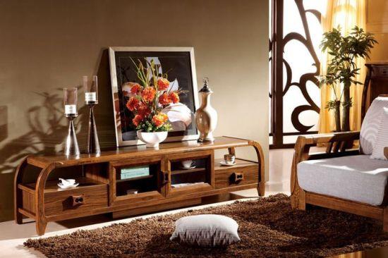 Modern Designer Wooden TV Stand Furniture Design TV Table