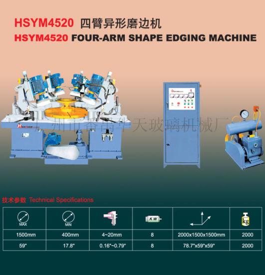 Four-Arm Glass Shape Edging & Grinding Machine Tn15