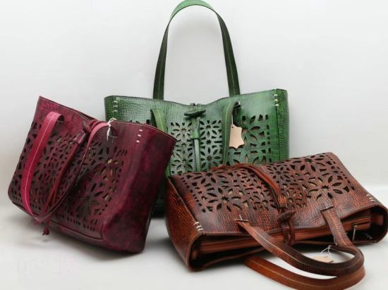 China Perforated Leather Designer