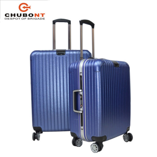 Chubont ABS PC Aluminum Luggage Case with Spin Wheeled pictures & photos