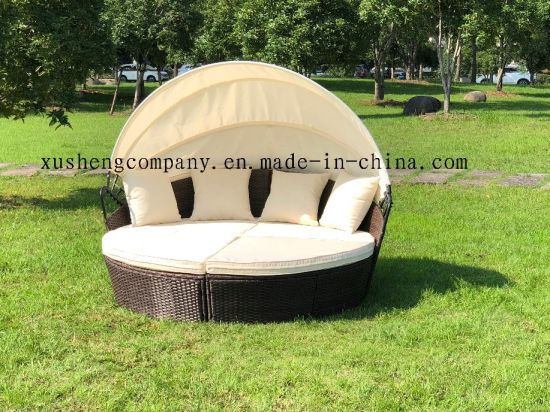 Rattan Outdoor Furniture Sun Loungers Kd Rattan Daybed