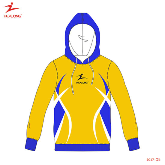 Healong Top Sale Sportswear New Design Full Sublimation Printing Hoodie pictures & photos