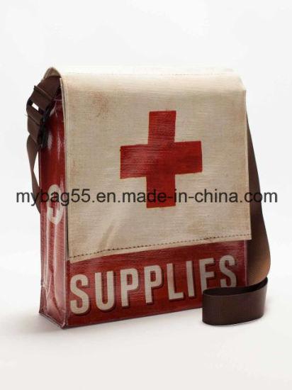Professional OEM Order Cmyk Print PP Woven Shoulder Bag
