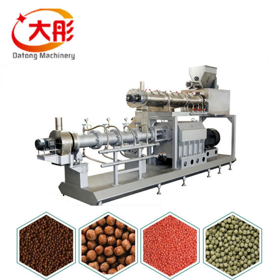 Floating Animal Pet Dog Catfish Fish Feed Pellet Production Machine Aquarium Soyabean Protein Snack Food Mill Pellet Processing Making Extrusion Line Price pictures & photos