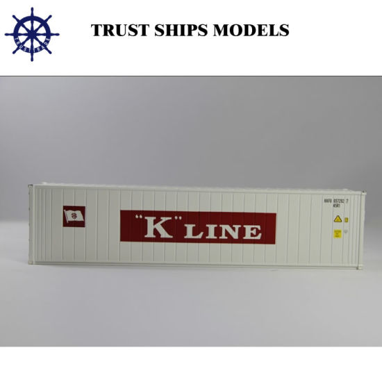 Alloy 40ft Miniature Shipping Container Scale Model