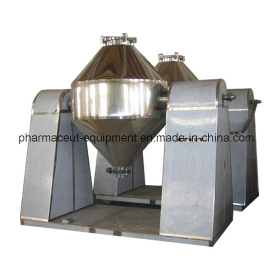 Szh-500 Pharmaceutical Machine Double Cone Mixer Machine Meet with GMP Standards pictures & photos