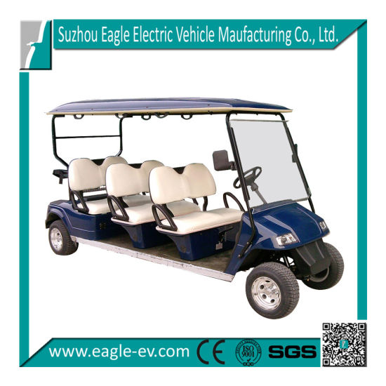 Electric Golf Cart, 6 Seats, Electric, Eg2068k, CE Approved, Brand New