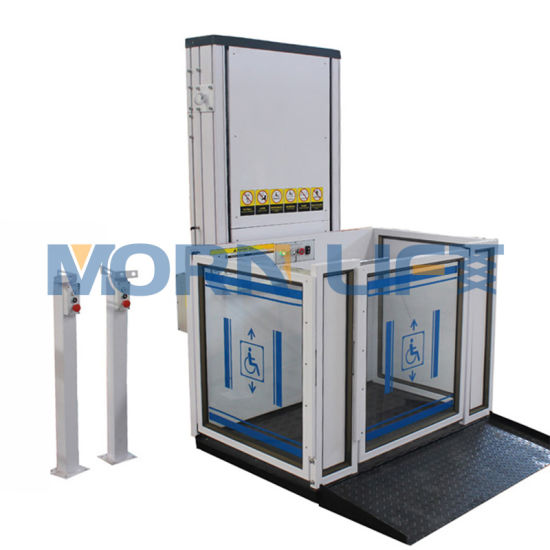 Outdoor Home Elevators Wheelchair Lift Price
