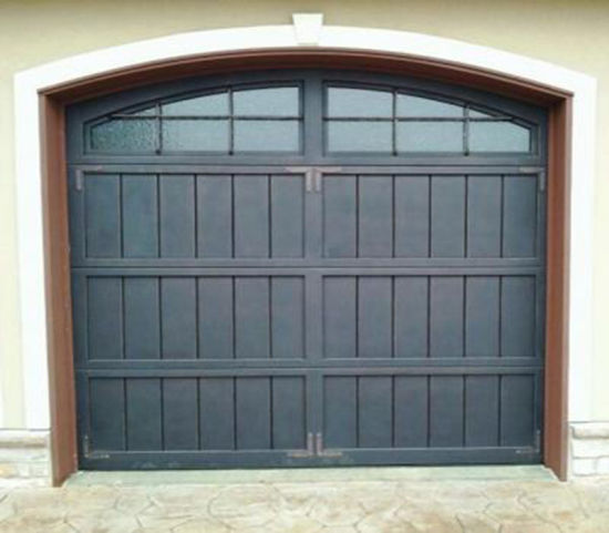 Best Quality Anti-Rust Security Hand Made Beautiful Iron Garage Doors pictures & photos