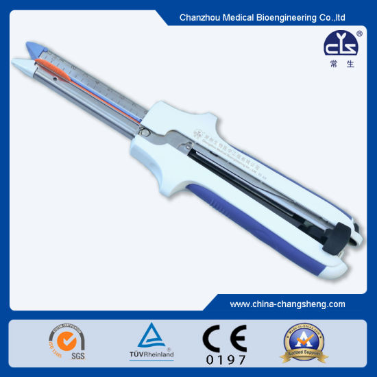 Disposable Linear Cutter Stapler (CE mark) pictures & photos