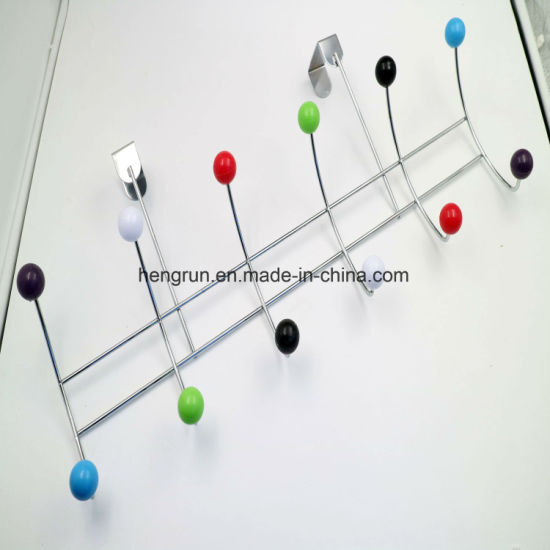 Multipurpose Over The Door Folding Clothing Clothes Coat Hooks